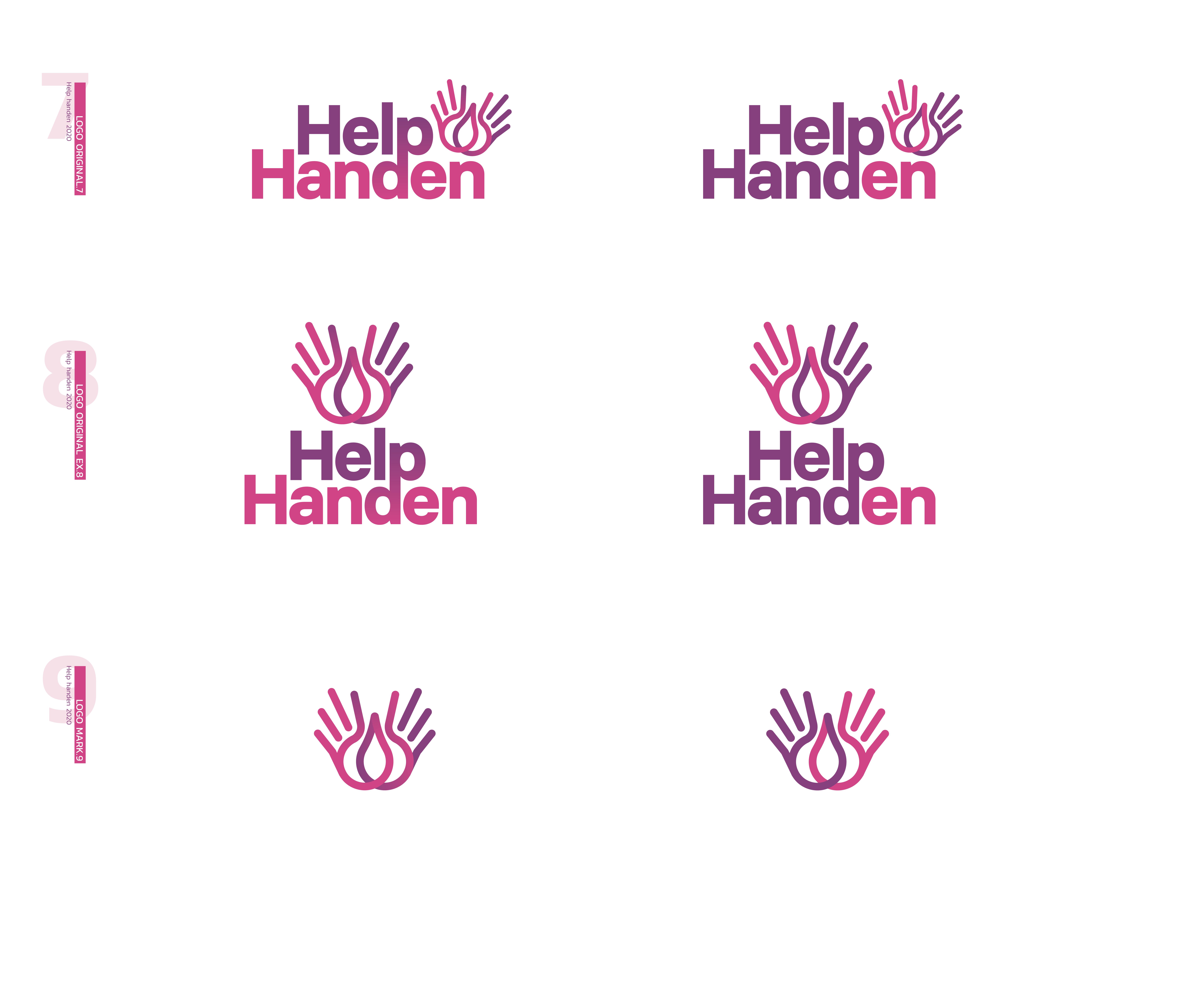 Help handen Branding
